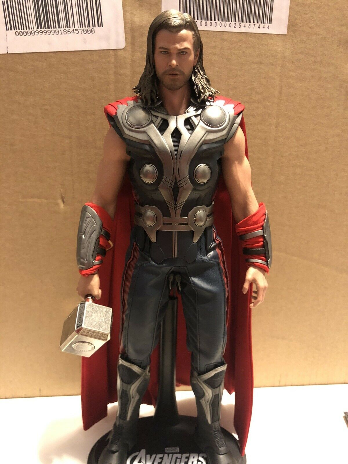 Hot Toys MMS175 Thor Marvel Avengers 1/6 Figure - Custom Modified on eBay thumbnail