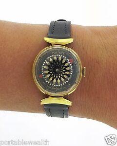 Ernest-Borel-Watch-Kaleidoscope-Vintage-Ladies-Cocktail-Skeleton-14k-Gold-Plated