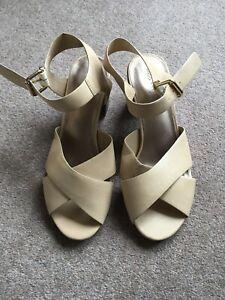 M-amp-S-Ladies-Leather-Sandals-Size-8