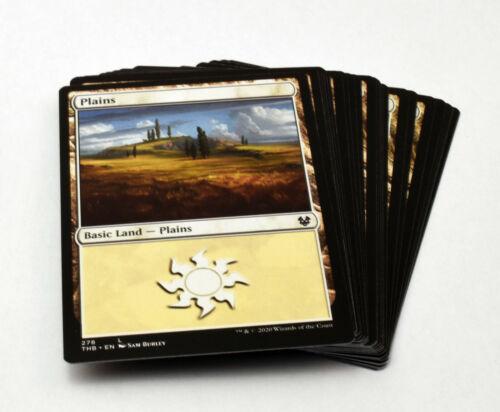 MTG Magic Plains Basic Land Lot White M//NM Pack Fresh Choose Quantity!