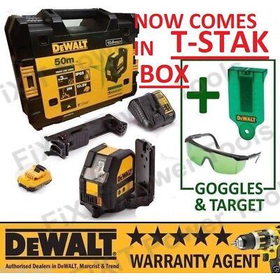 Dewalt DCE088D1G 10.8V Self Leveling Cross Line Green Laser kit 1 x 2.0Ah Batt N