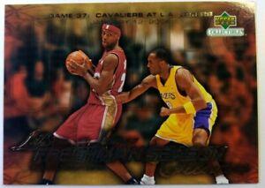 2003-04 Upper Deck Freshman Season Collection Kobe vs Lebron James Rookie RC #39
