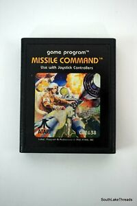 MISSILE COMMAND - ATARI 2600 - GAME ONLY - Tested and Works Great
