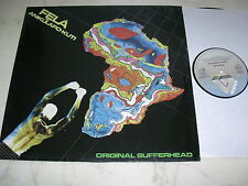 FELA ANIKULAPO-KUTI Original Sufferhead *GERMAN ARISTA LP*AFROFUNK KILLER*