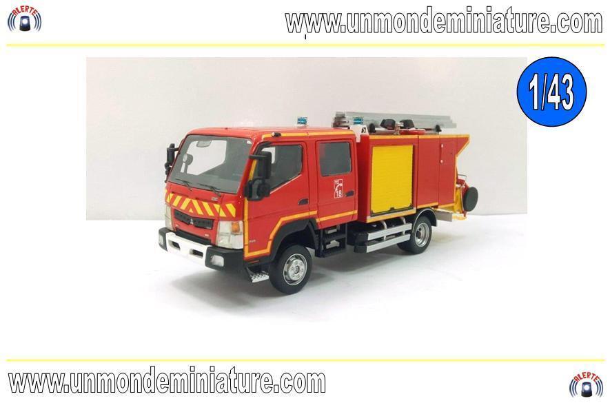 Mitsubishi Fuso Canter Gallin CCRL ALERTE - AL 0067A - Echelle 1/43