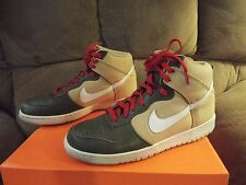 Nike Dunk High, 2012, Jersey Gold / White / Iguana, 317982 704, Sz 9 SWEET