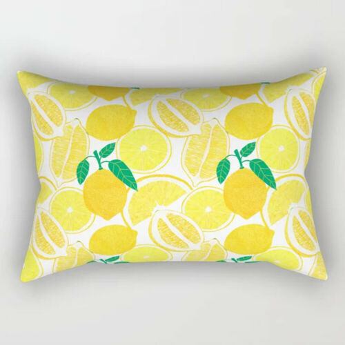 Rectangular Waist Throw Pillow Case Cushion Cover Home Decor Sofa Bed Pillowcase