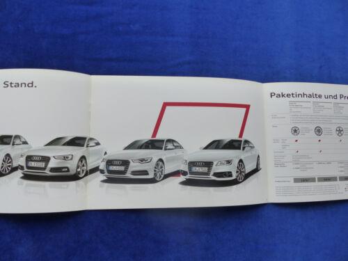 AUDI S LINE SELECTION-a3 a4 a6 a7 q3 q5 TT MJ 2014-prospectus brochure 10.2013