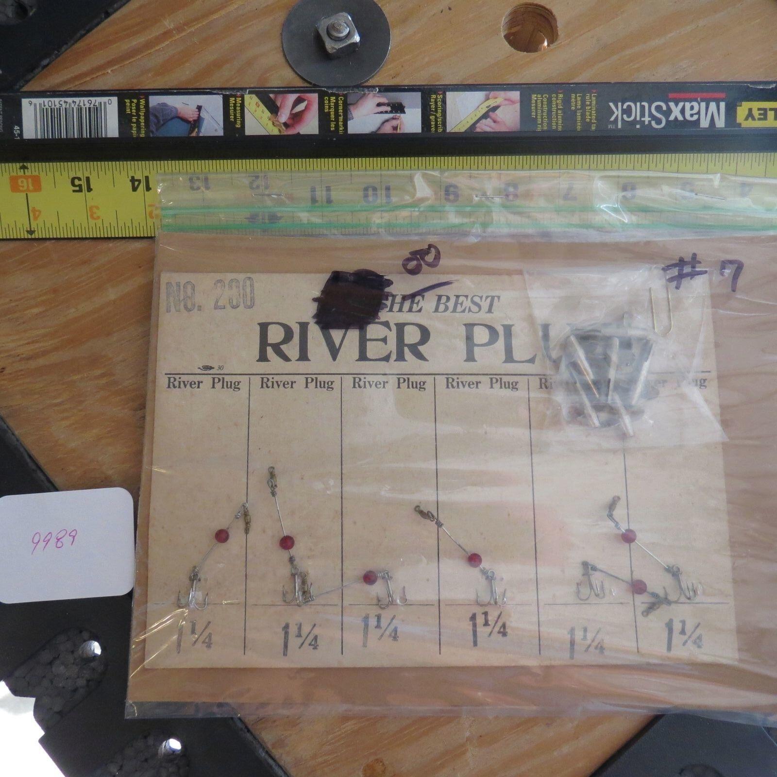 Vintage River Plug  Devon display card (lot)  for wholesale