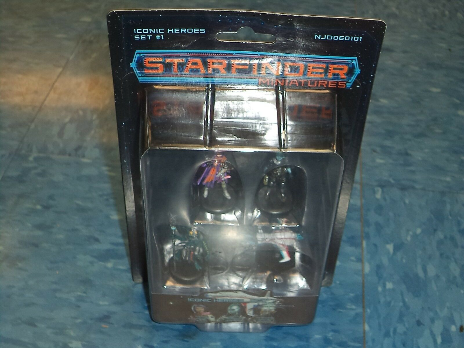 Iconic Heroes Set 1 Starfinder Miniatures Minis Paizo RPG Roleplaying Game New