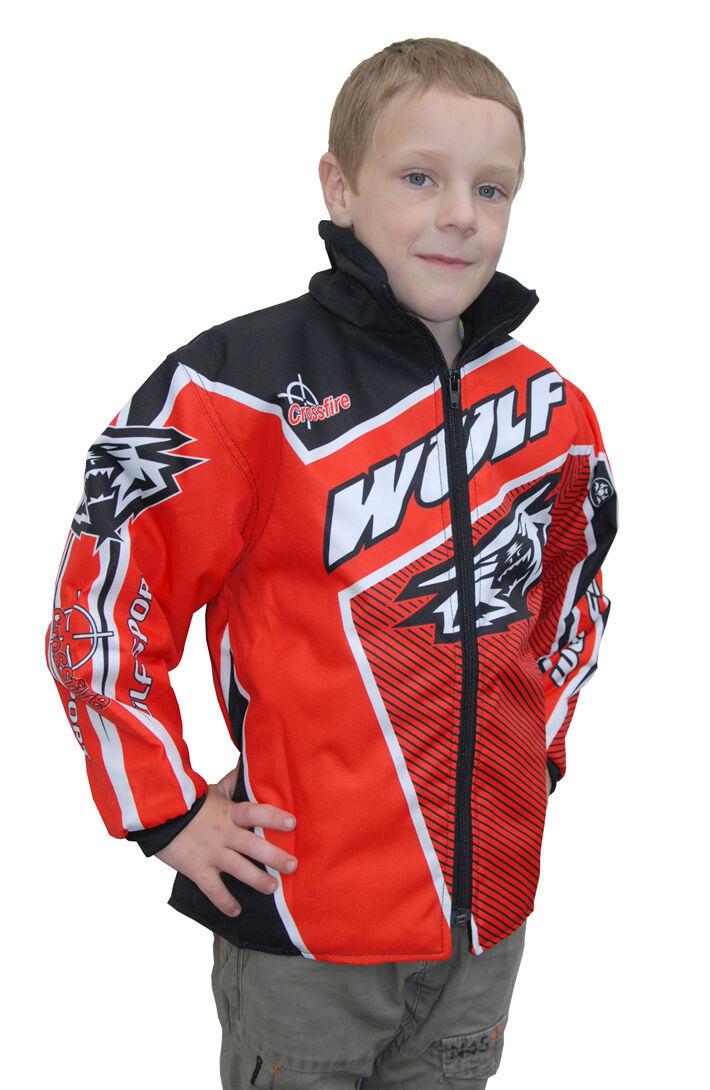 """Wulfsport gold force ten cub ride jacket size 26/"""" motocross motorbike MX"""