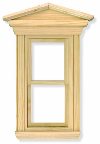 DOLL HOUSE miniatura FAI DA TE IMPIANTO /& RACCORDO scala 1.12 Georgiano telaio finestra