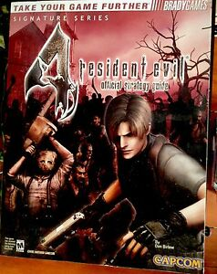 RESIDENT-EVIL-4-STRATEGY-GUIDE-INCLUDE-POSTER-NINTENDO-GAMECUBE-BRAND-NEW