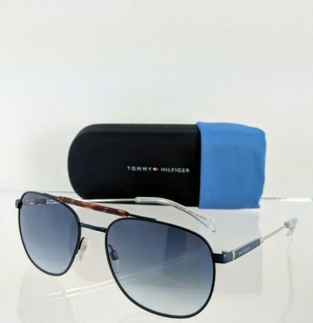 55 mm Gold Tommy Hilfiger Mens Th1646s Rectangular Sunglasses