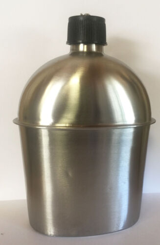 STAINLESS STEEL CANTEEN Style 1 Qt G.I