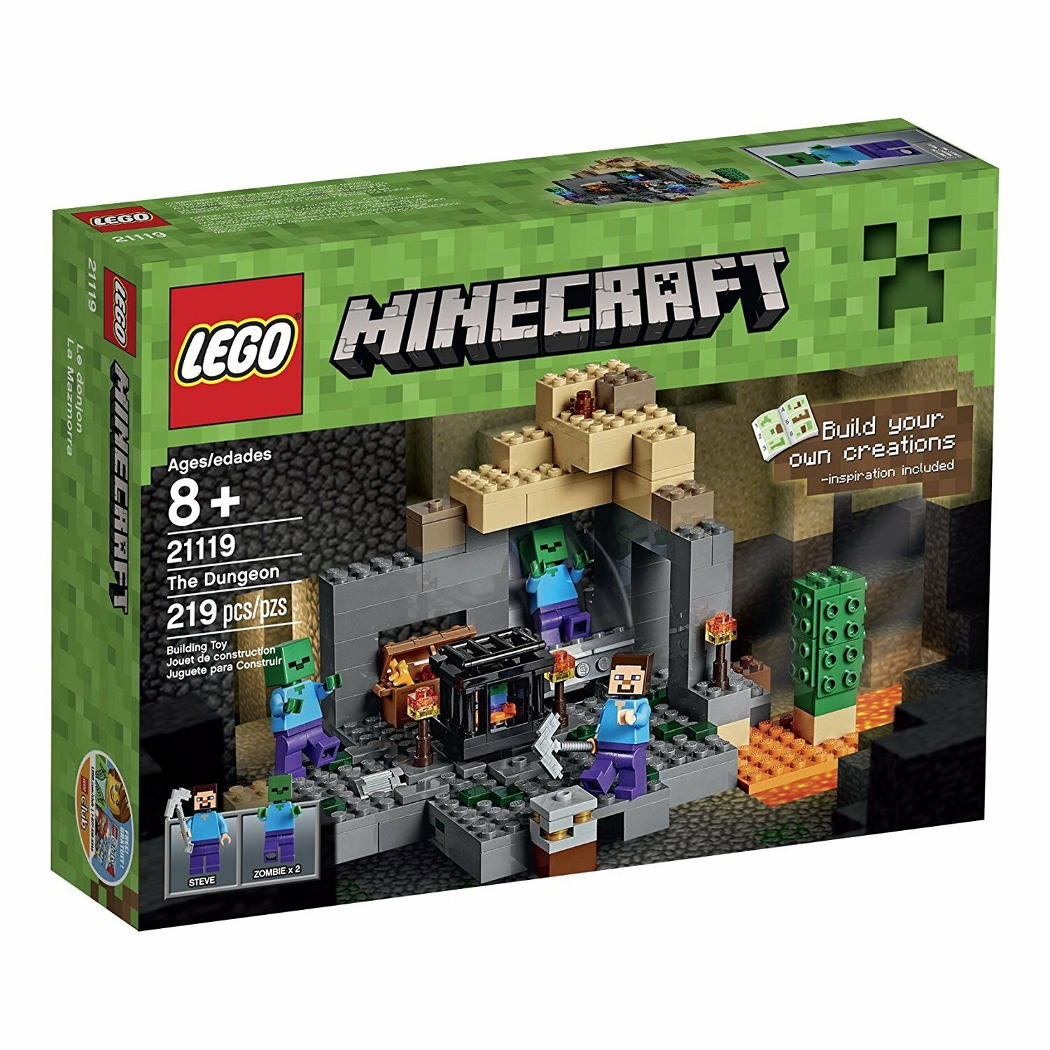 LEGO LEGO LEGO Minecraft The Dungeon 21119 4a9e03
