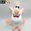 New Russian Cartoon Booba Buba White Pig Plush Toys Pig Stuffed Doll Animal Gift