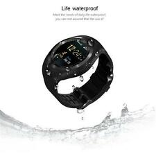 Waterproof Y1 Bluetooth Smart Watch Phone for IOS Android iPhone Smsung Black