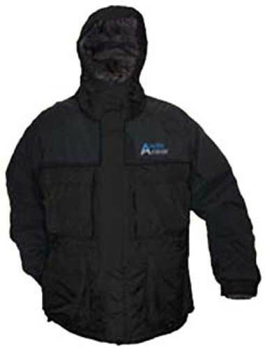 Arctic Armor Floating Extreme Weather Ice Fishing Jacket Black MED