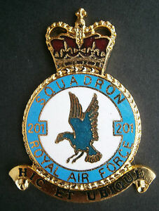 RAF-201-Squadron-badge-front-plaque-Royal-Air-Force