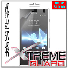 XtremeGuard Clear LCD Screen Protector Shield Skin For Sony Xperia Acro S LT26w