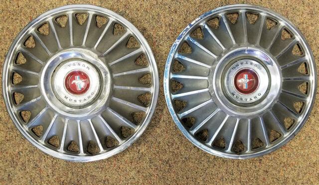 Buy Original 1967 Ford Mustang Wheel Covers Set Of 4 Hub Caps C7za