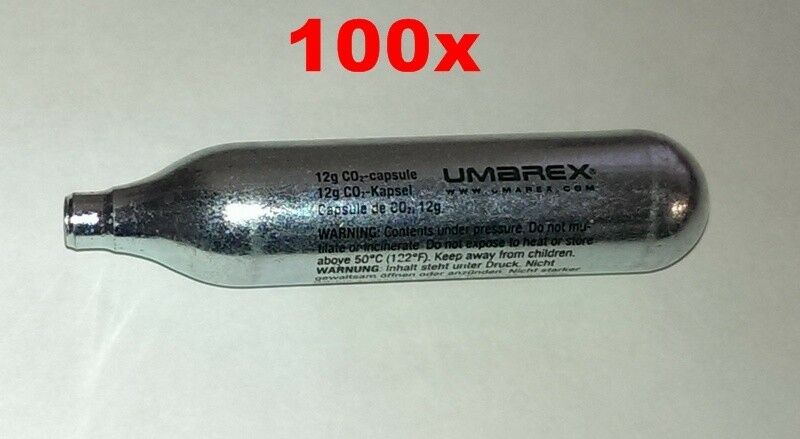 100 x CO2 Kapsel 12g Umarex