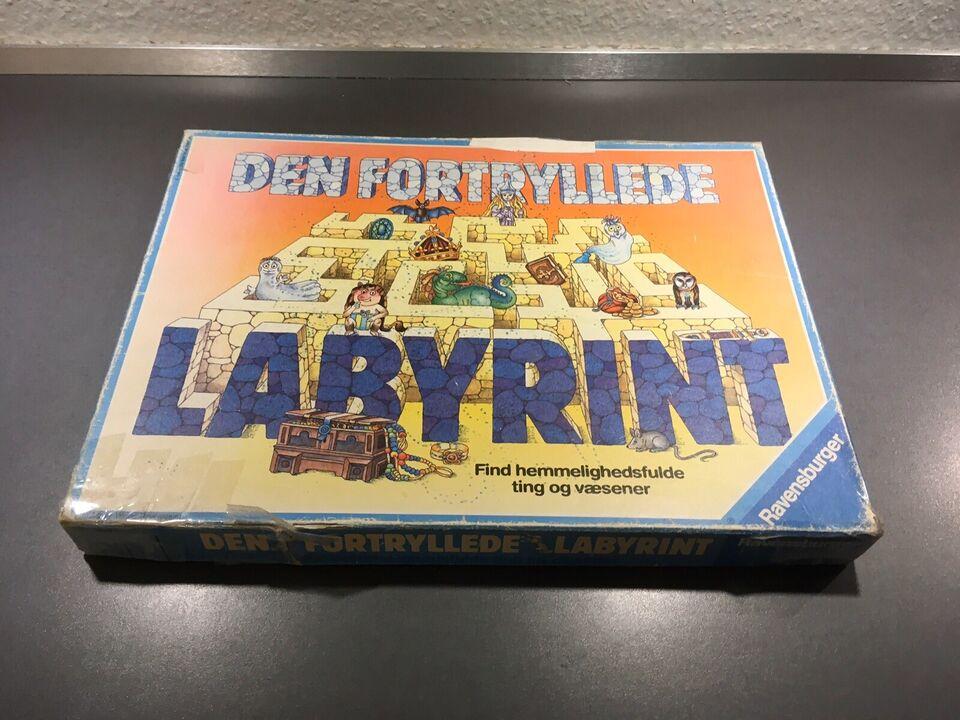 Den fortryllede labyrint, Familiespil, brætspil