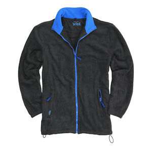 Granite sky With Sizes From Brigg 14xl Fleecejacket Big Per In Zipper Rxqfwg8