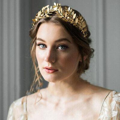 Gold Sliver Leaf Style Wedding Party Bridal Tiara Crown Vintage Bride Hair Ebay
