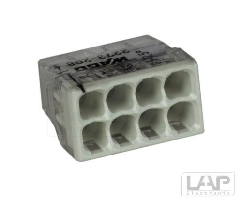 Wago 2273-208 bornas latas bornas bornas de conexiónborna 5-50 unidades