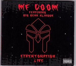 MF-Doom-Featuring-Big-Benn-Klingon-Expertoration-Live-CD