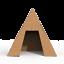 GRAN-PIRAMIDE-DE-CARToN-DIY-PARA-COLOREAR-Y-JUGAR-DENTRO-VARIAS-MEDIDAS miniatura 3