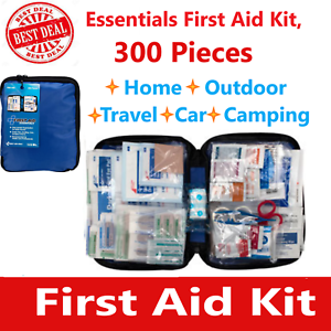 First Aid Kit Emergency Bag Home Car Outdoor, All Purpose Kit, Portable 312 pcs