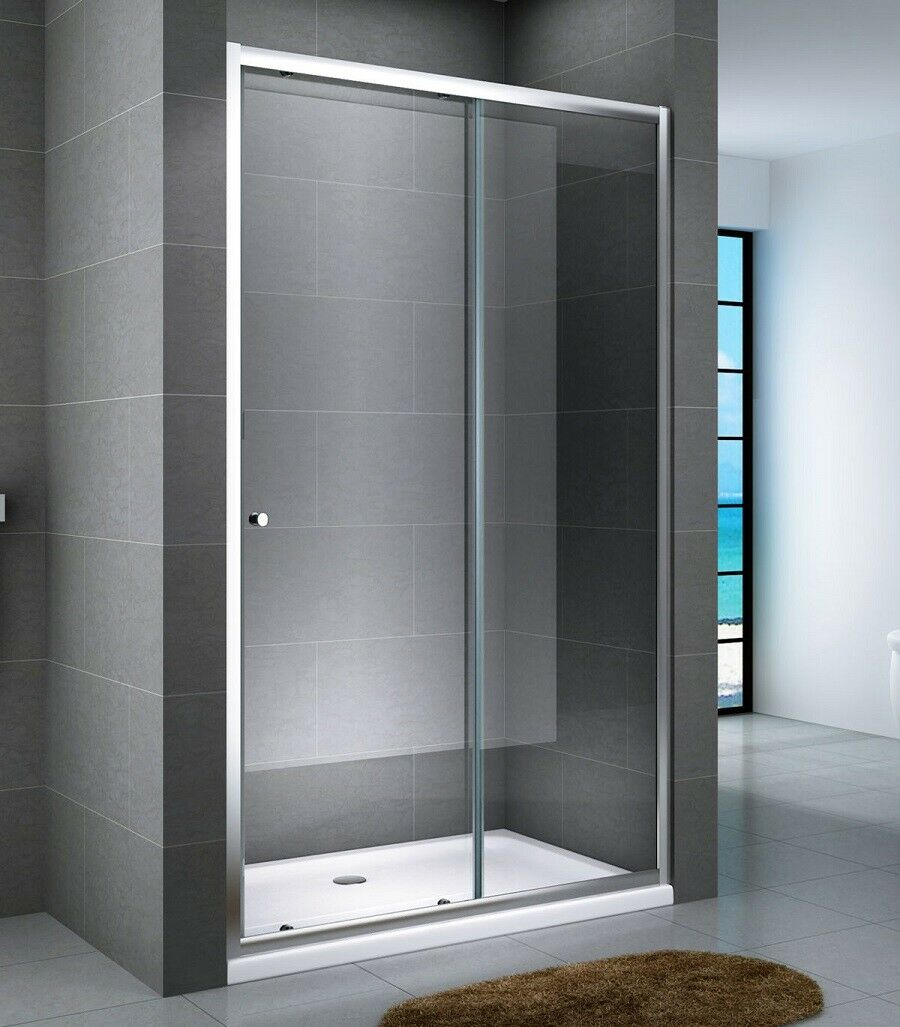 Porta doccia ad un'anta scorrevole cristallo 6mm h.190 ALMA