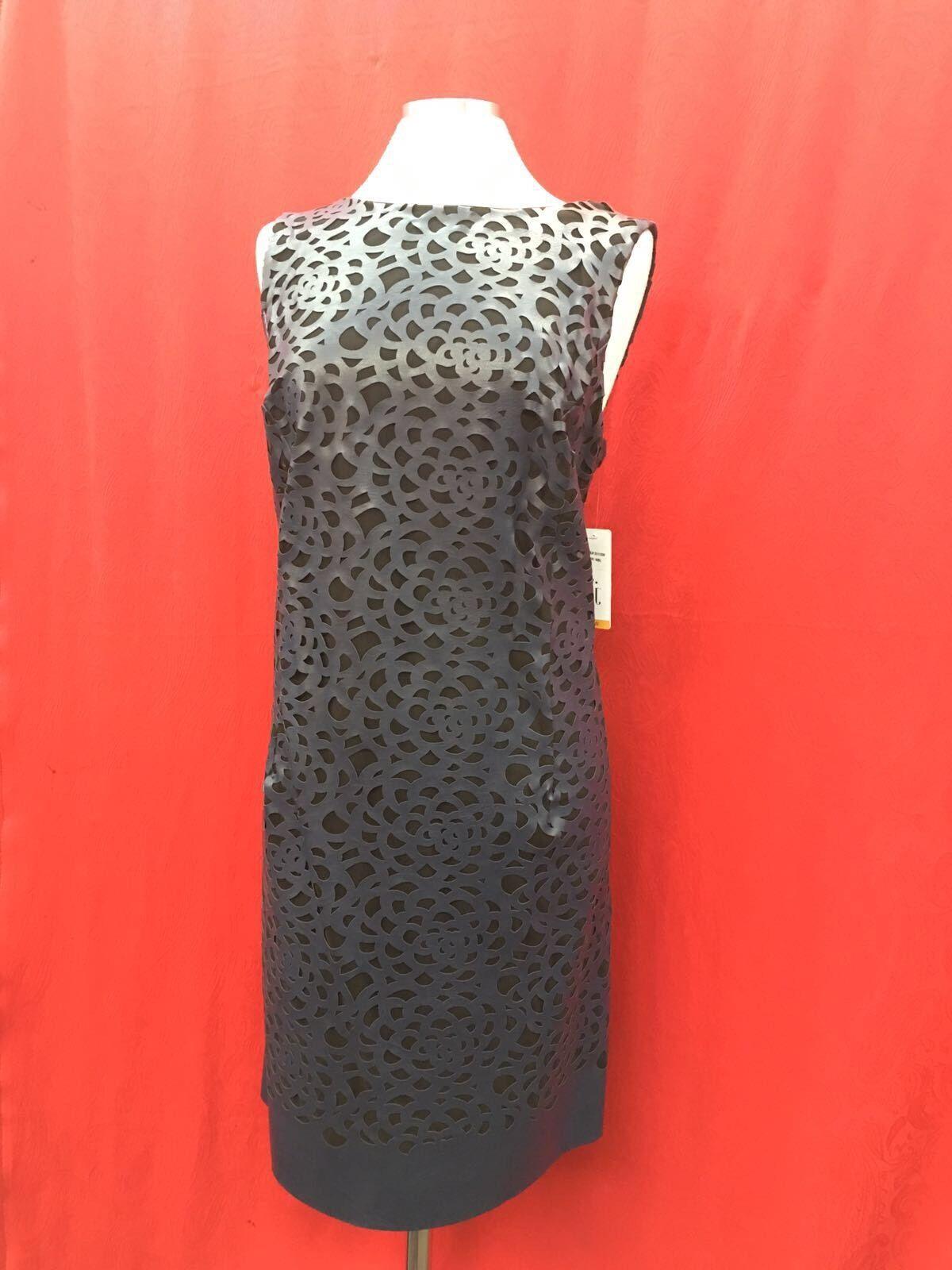 Julia Jordan Kleid Marineblau Übergröße Einzelhandel 40'  Größe 18W
