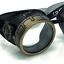 Details about  /Steampunk Vintage pilot goggles motorcycle biker aviator glasses  burning man