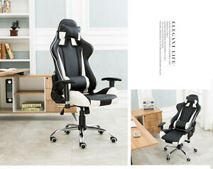! Professional Gaming Office Chair Racing Seat+Gaming Mousepad | eBay