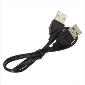 50CM-USB-Typ-A-Stecker-auf-USB-2-0-Ein-Stecker-Stecker-Adapter-Kurz-Kabel-Kabel