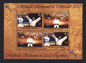 Kosovo 2012 - Olympia London Judo Judô Judoka - Kelmendi - Block 22 ** mnh