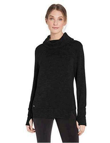 Essentials Women's Studio Terry Long-Sleeve, Graphite, Size XX-Large