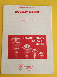 Holiday Magic Trombone Trio With Piano Arr Ricky Lombardo KöStlich Im Geschmack