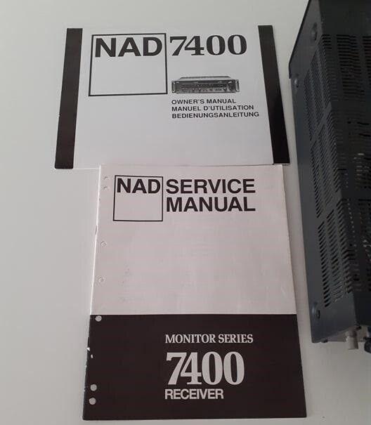 Receiver, Nad, 7400