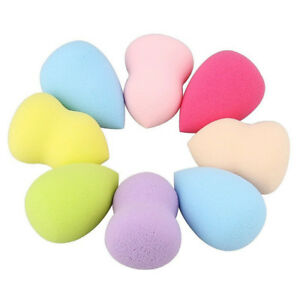 8pc-Makeup-Sponge-Blender-Blending-Powder-Smooth-Puff-Flawless-Beauty-Foundation