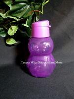 Tupperware Tupperkids Purple Penguin Shaped Eco Water Bottle Flip Top 12 Oz