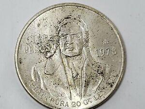 1978 27.64g Mexico .720 Silver 100 Pesos Coin Estados Unidos Mexicanos