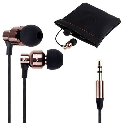 Super Bass Stereo 3.5mm In-Ear Earphone Headphone Earbud Metal Headset Universal