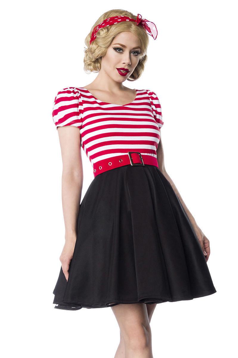 SEXY abito PIN UP taglia S,M,L,XL,2XL,3XL (40,42,44,46,48,50) black bianco red