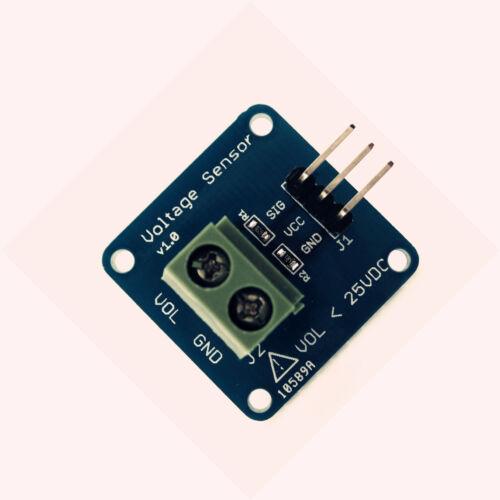 2PCS New DC Voltage Sensor Module Voltage Detector Divider for Arduino DG L8