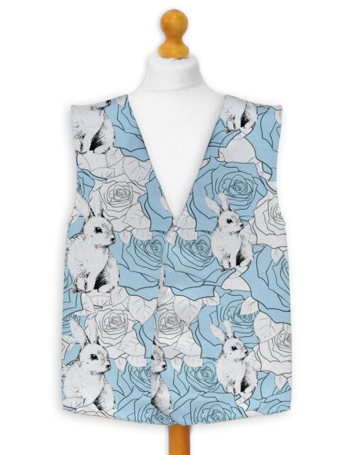 Novelty Waistcoat Fun Fancy Dress Informal Wacky Alice Adventure in Wonderland